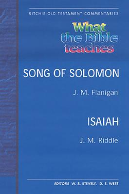 Wtbt Vol 5 OT Song of Solomon Isaiah - Riddle, Flanigan &