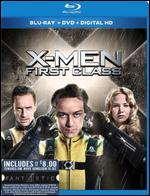 X-Men First Class [2 Discs] [Includes Digital Copy] [UltraViolet] [Blu-ray/DVD] - Matthew Vaughn