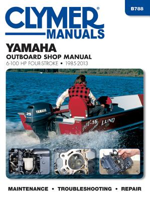 Yamaha 6-10hp Clymer Four Stroke Outboard Engine Repair Manual - Anon