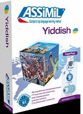 Yiddish with Ease: Super Pack (Livre + 4 CD Audio + 1 CD MP3) - Prime-Margulis, Annick, and Dehan-Rotschild, Nadia