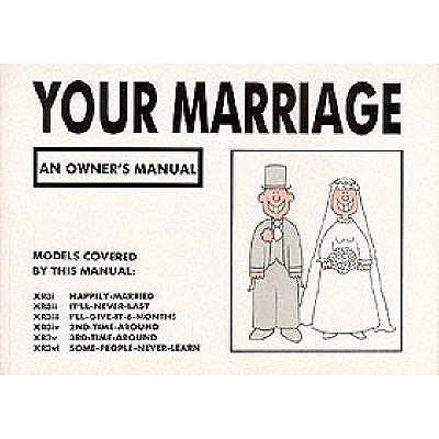 Your Marriage: An Owner's Manual - Baxendale, Martin
