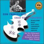 Zino Francescatti: Great Violin Concertos