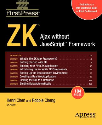 Zk: Ajax Without the JavaScript Framework - Chen, Henri, and Cheng, Amy