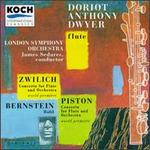 Zwilich: Concerto for Flute and Orchestra/Piston: Concerto for Flute and Orchesta/Bernstein: Halil